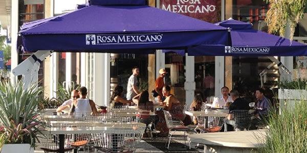 Rosa Mexicano Entrance
